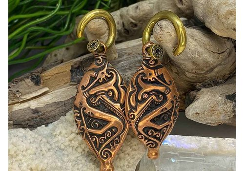 Safe Products Safe Products Copper Egyptian Scroll Weights 6g