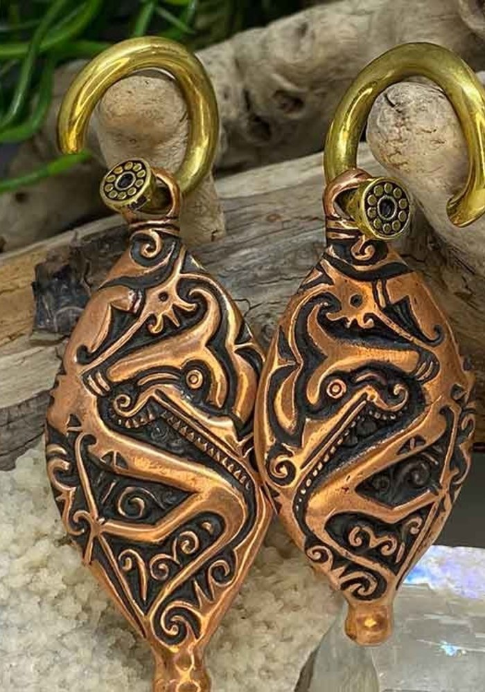 Safe Products Copper Egyptian Scroll Weights 6g
