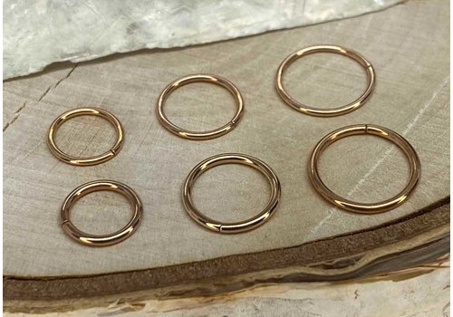LeRoi, Inc. Rose Gold Seam Ring