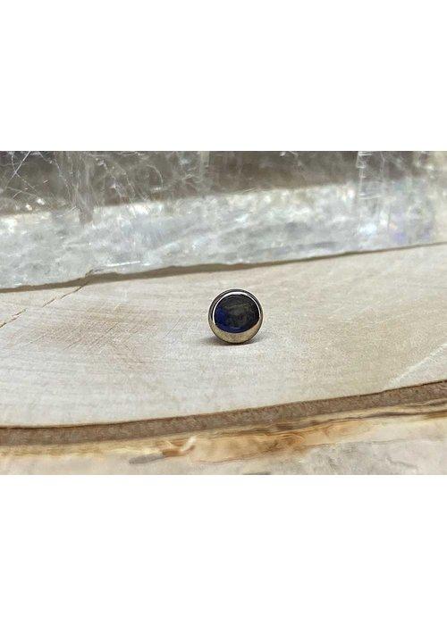 Industrial Strength High Polish Disk Titanium Threaded