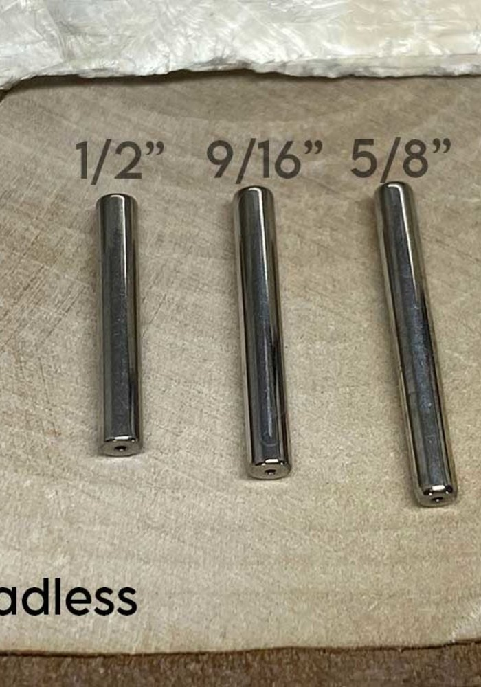 12g Threadless Ti Nipple Barbell (Post Only)