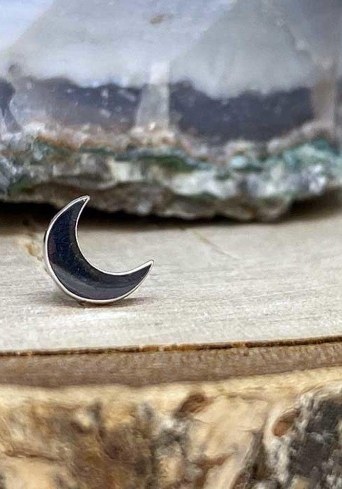 Junipurr Moon White Gold Small Threadless