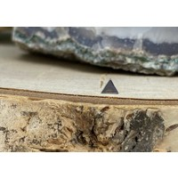 Junipurr Triangle Small White Gold 3.4mm Threadless