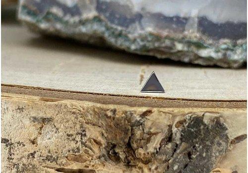 Junipurr Junipurr Triangle Small White Gold 3.4mm Threadless