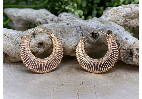 Maya Jewelry Maya Jewelry Dissent in Rose Gold 18g