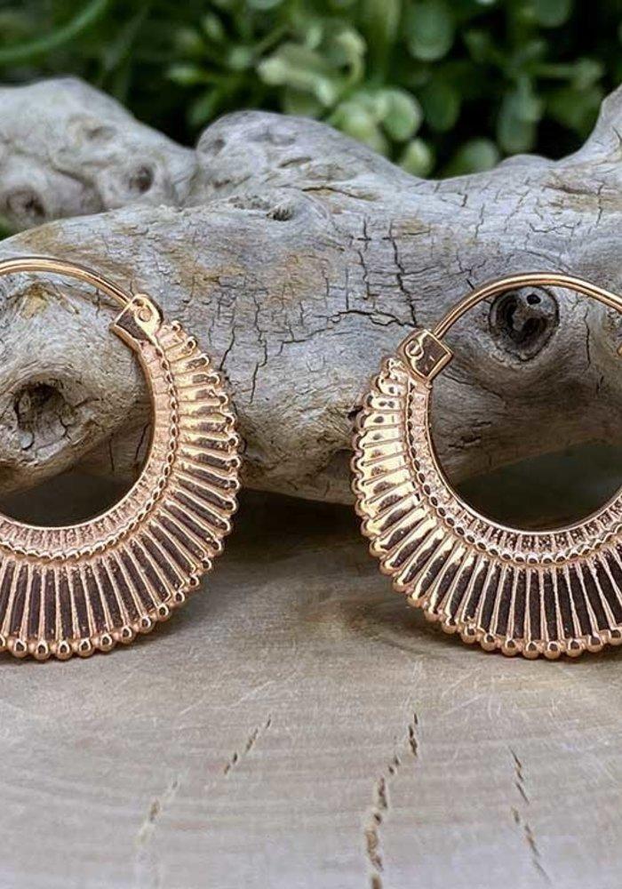 Maya Jewelry Dissent in Rose Gold 18g