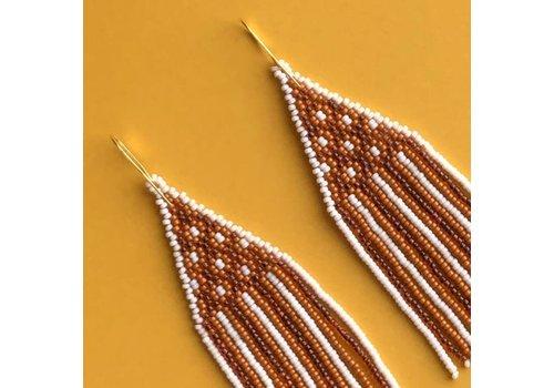 ABELL Designs Orange Lattice