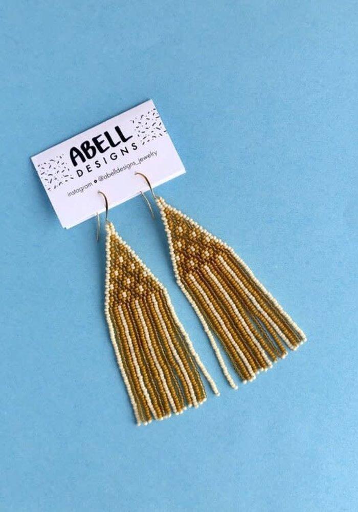 ABELL Designs Yellow Lattice