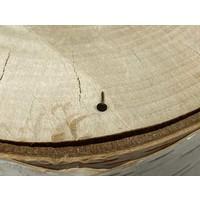Neometal Freckle Disk Titanium Dark Brown Threadless