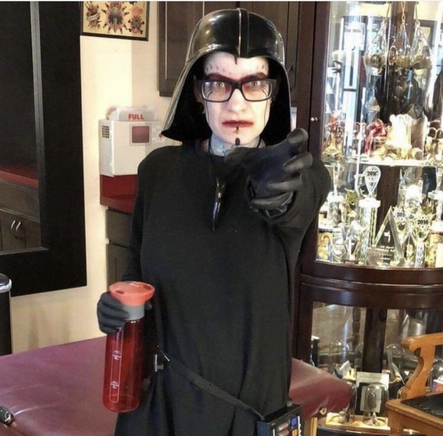 Anj Marth as Darth Vader