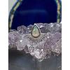 Tawapa Tawapa Nightfall 14k White Gold with Genuine White Opal Threadless