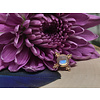 BVLA BVLA Mini Kandy 14k Rose Gold with 4mm Rose Cut Rainbow Moonstone Bezel 14g 8mm Threaded