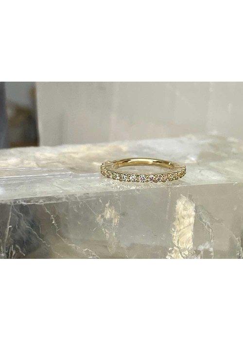 Buddha Jewelry Organics Buddha Jewelry Radiant Yellow Gold 16g 5/16 Clicker
