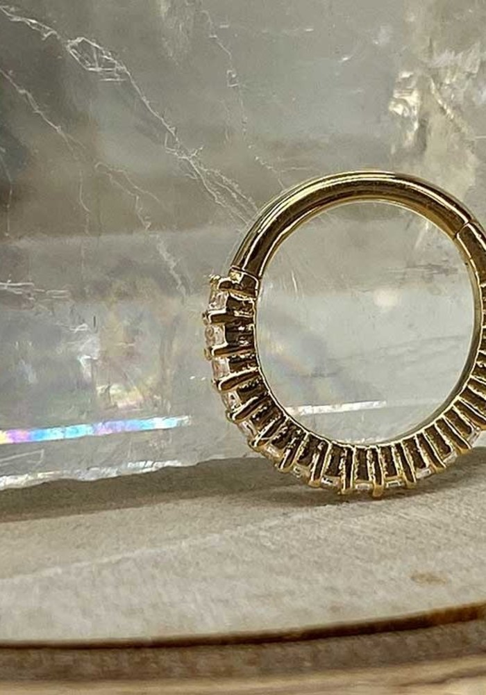 Buddha Jewelry Radiant Yellow Gold 16g 5/16 Clicker