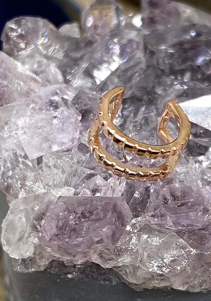 Tawapa Spirit Ear Cuff Rose Gold