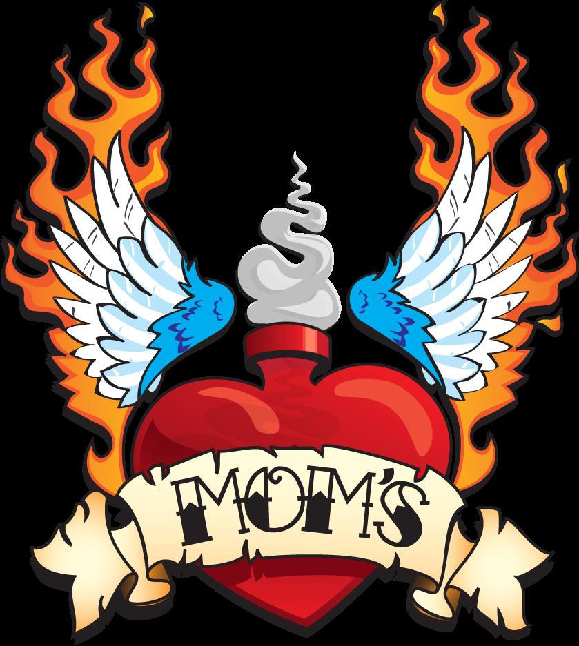 Mom's Vintage Logo