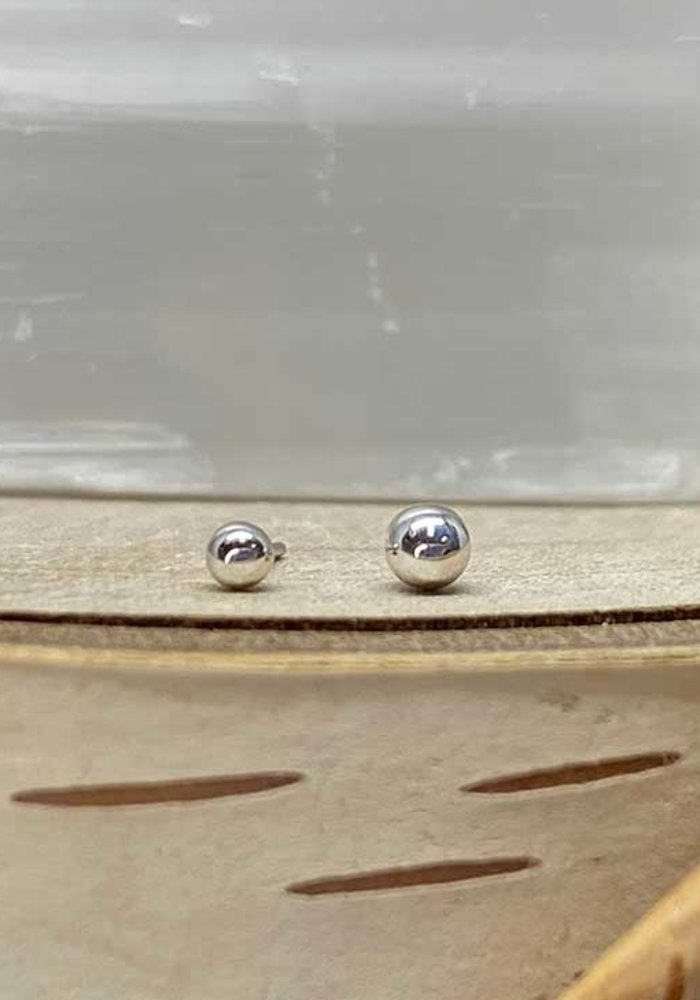 BodyGems Ball White Gold 2.5mm Threadless