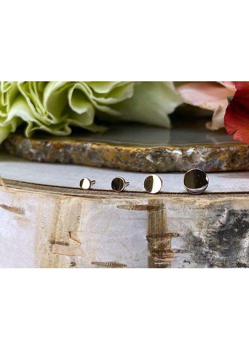 Modern Mood Modern Mood Plain Disc Rose Gold Threadless