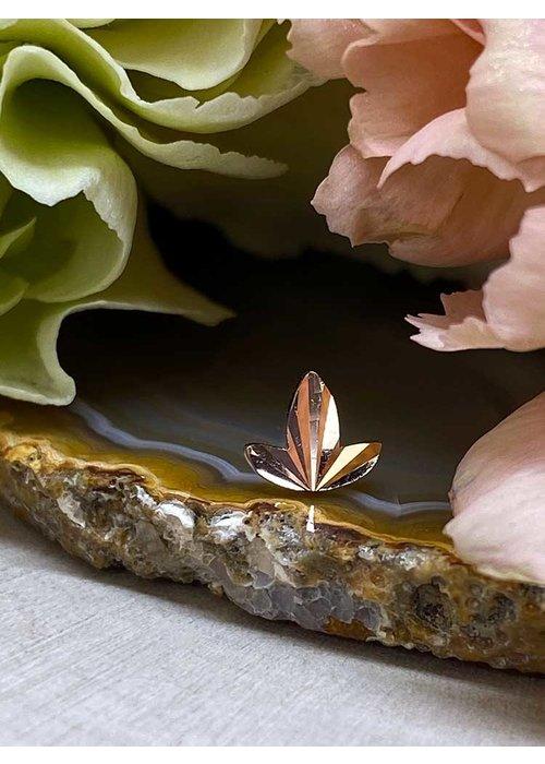 Buddha Jewelry Organics Buddha Jewelry Organics Goldleaf Rose Gold Threadless