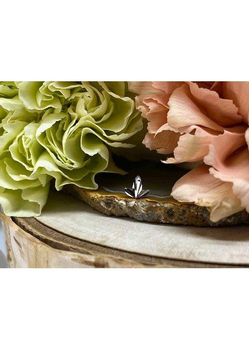 Buddha Jewelry Organics Buddha Jewelry Organics Goldleaf White Gold Threadless