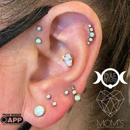 5 of Mom's All Time Favorite Ear Piercings