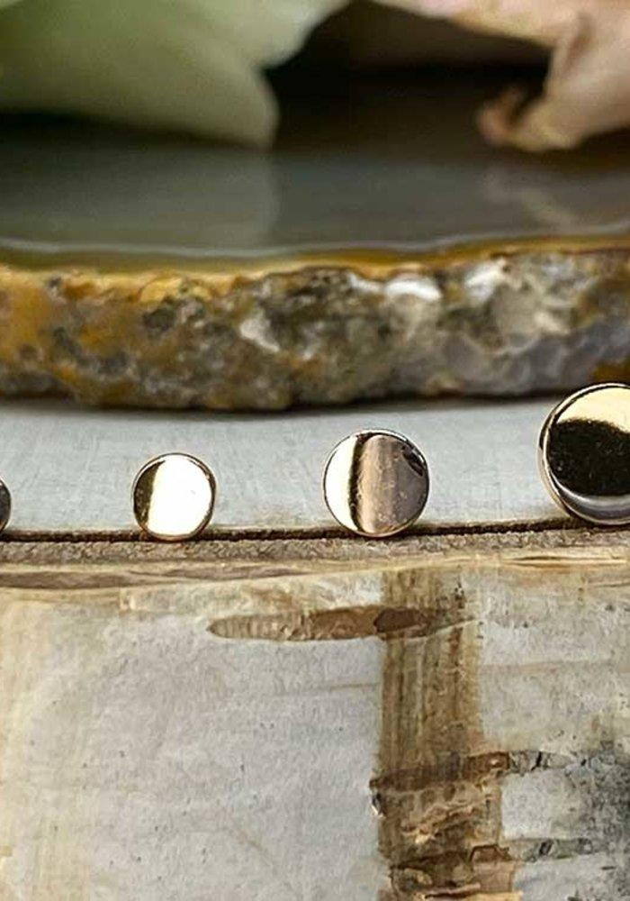 Modern Mood Plain Disc Rose Gold Threadless