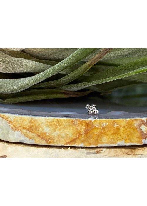Junipurr Junipurr Beaded Diamond White Gold Threadless