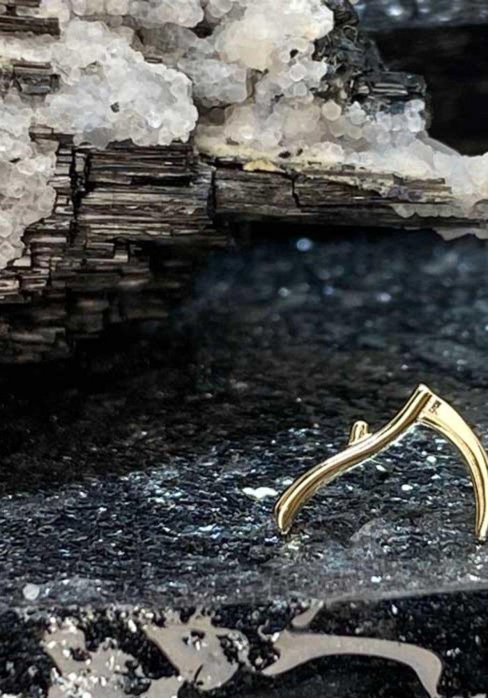 Junipurr Scythe Yellow Gold Threadless
