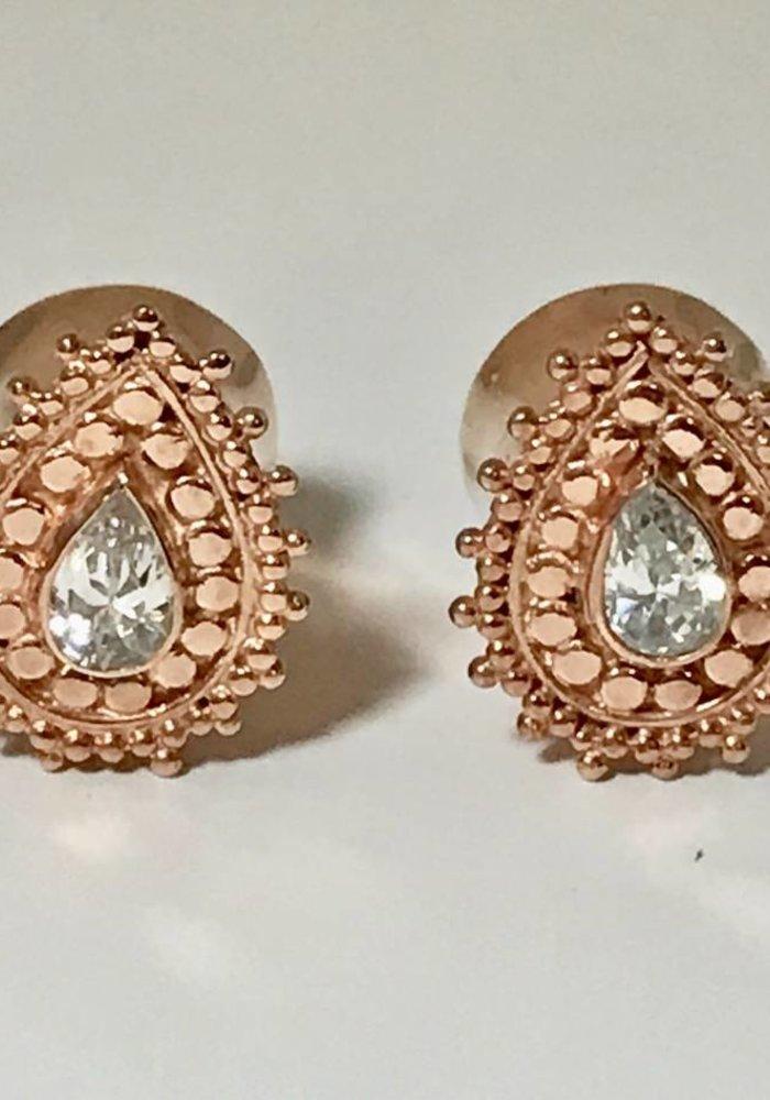Buddha Jewelry Aja Rose Gold Plated Plug