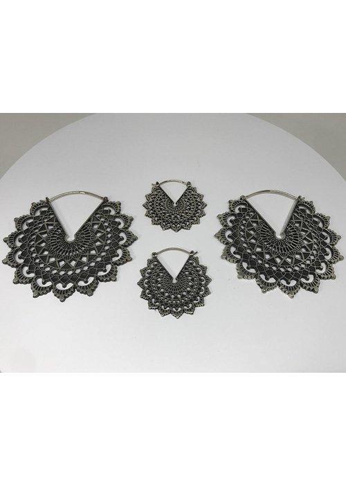 Maya Jewelry Maya Jewelry Majesty Black 16g Weights