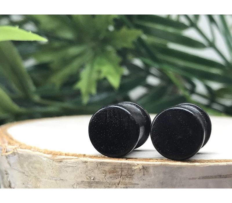 Omerica Organics Ebony Wood Basic Double Flared Plug