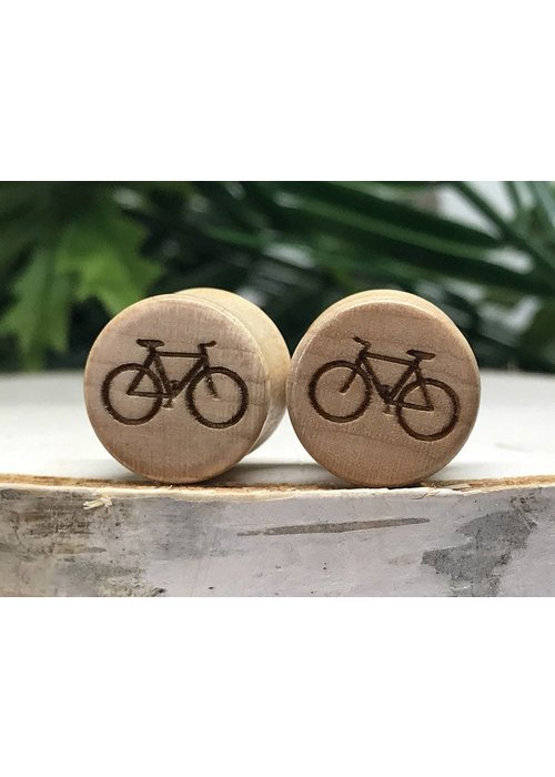 Omerica Omerica Organics Bike More Etched/Graphic Double Flared Plug