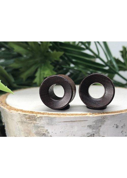 Omerica Omerica Organics Granadillo Wood ConcaveBasic Eyelet Double Flared Plug