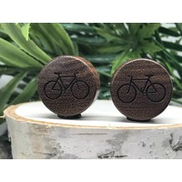 Omerica Organics Bike More Etched/Graphic Double Flared Plug
