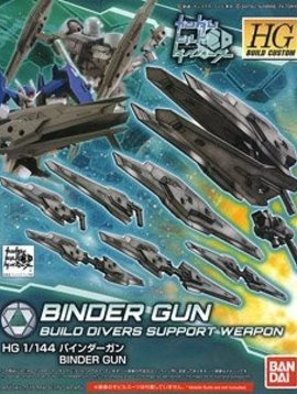 BAN HG Build Divers Support Weapon Binder Gun