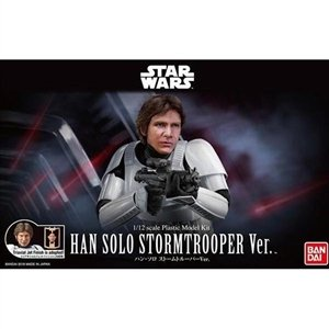 Bandai BAN225743 1/12 Scale Han Solo Stormtrooper Ver. Star Wars Plastic Model kit