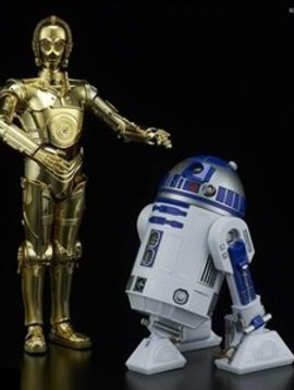 Bandai BAN223297 1/12 Scale C-3PO & R2-D2 Star Wars Model Kit