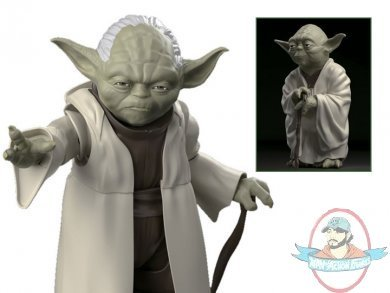 Bandai BAN214473 1/12 Scale Yoda Star Wars Plastic Model Kit