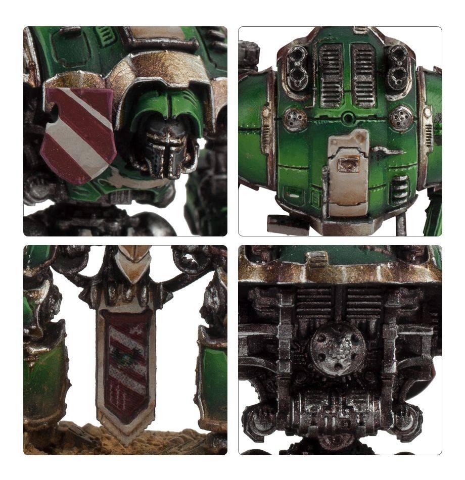 Citadel Adeptus Titanicus Imperial Knights Warhammer 40k 400-05
