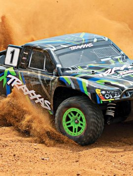 Traxxas 68054-1 SLASH 4X4 1/10 Scale High-Performance 4X4 Short Course Truck Green