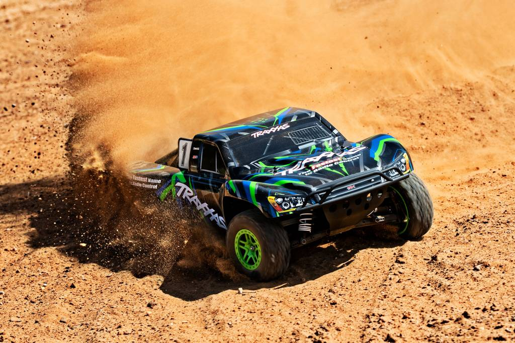 Traxxas 68054-1 SLASH 4X4 1/10 Scale High-Performance 4X4 Short Course Truck Green