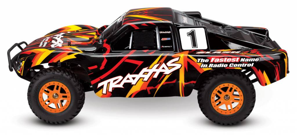 Traxxas 68054-1Org Slash 4x4 Short Course Truck