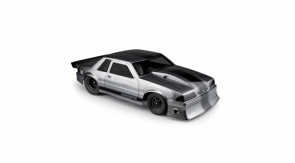 "JCO 1991 Ford Mustang, Fox Clear Body, 10.75 & 13"" WB"