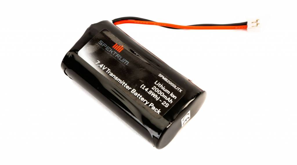 spektrum SPMB2000LITX 2000 mAh TX Battery: DX9,DX7S,DX8