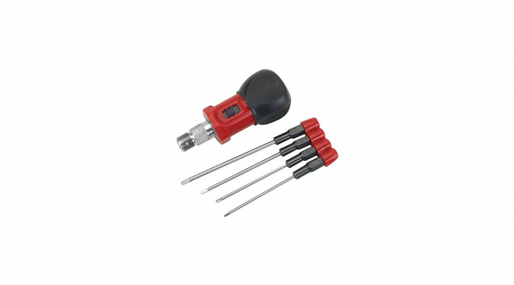 Dynamite DYN2920 4-Piece Standard Hex Wrench Set with Handle