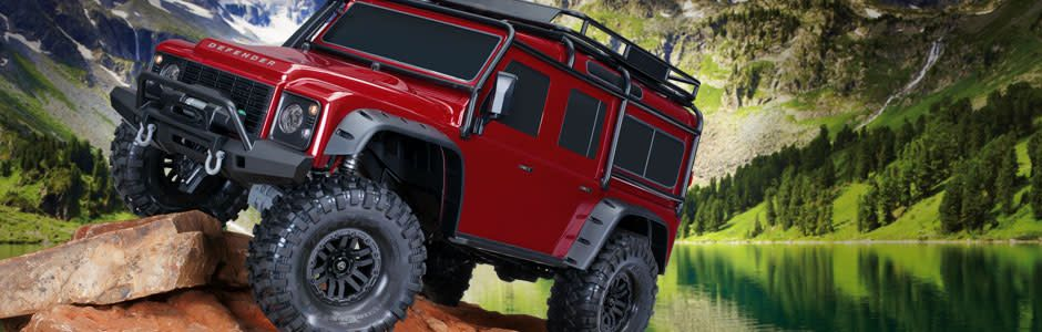 Traxxas TRA82056-4 TRX-4 Scale & Trail Crawler (Red)