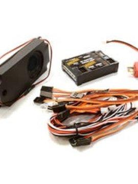 Integy G.T.Power Car Sounds/Light System 6 LED 40 Voices