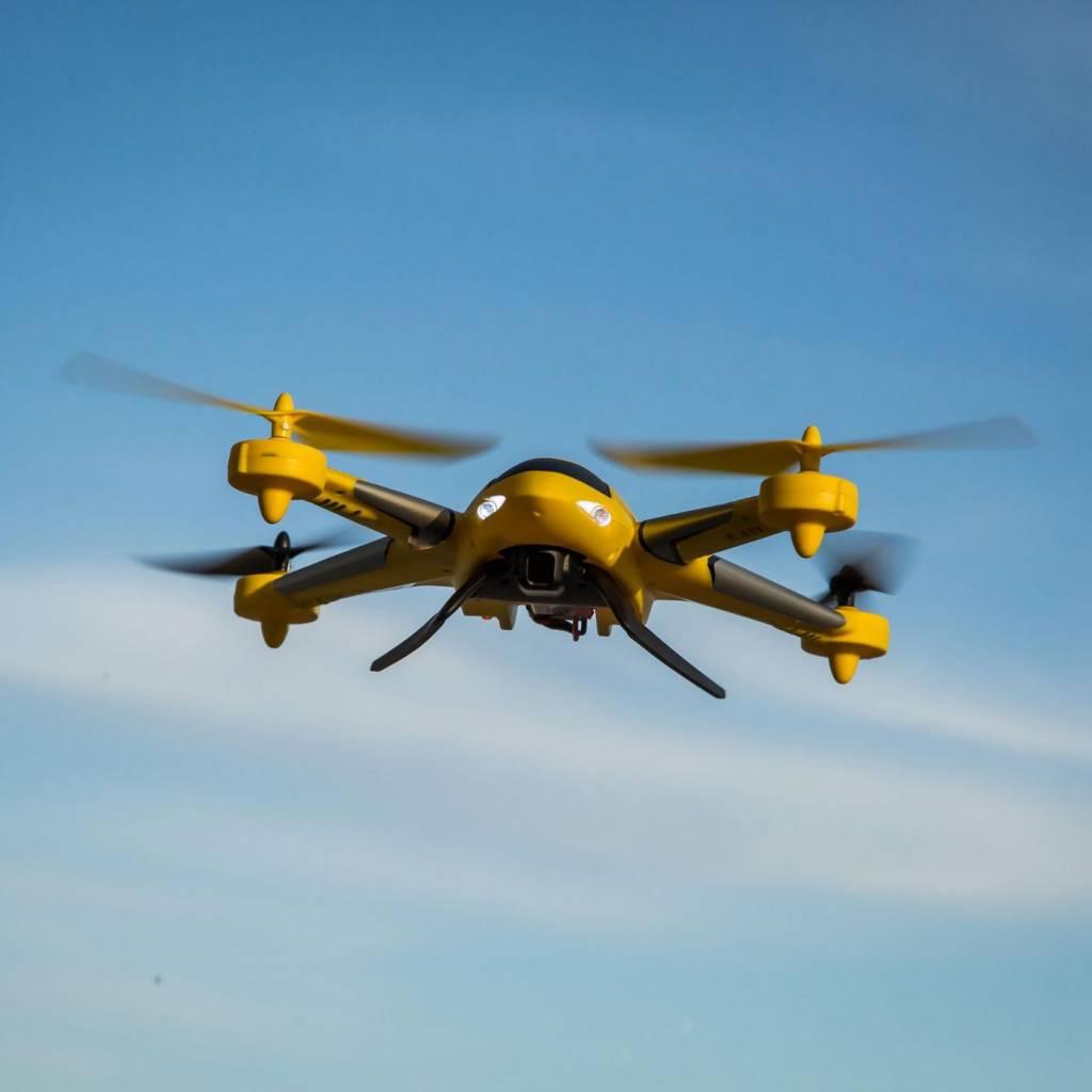 Zeyrok Drone RTF with SAFE Technology, Yellow
