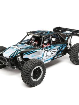 Losi Desert Buggy XL-E:1/5th 4wd Elec RTR Grey/Blue