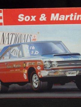 Revell Sox and Martin GTX Skill 3 1/25 model Kit (7365)